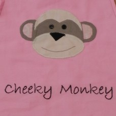 Personalised Library Bags - Cheeky Monkey
