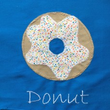 Personalised Library Bags - Donut