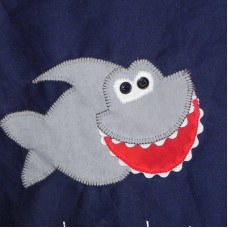 Personalised Library Bags - Shark