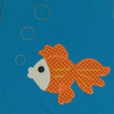 Personalised Library Bags - Goldfish