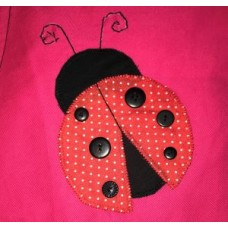 Personalised Library Bags - Ladybug