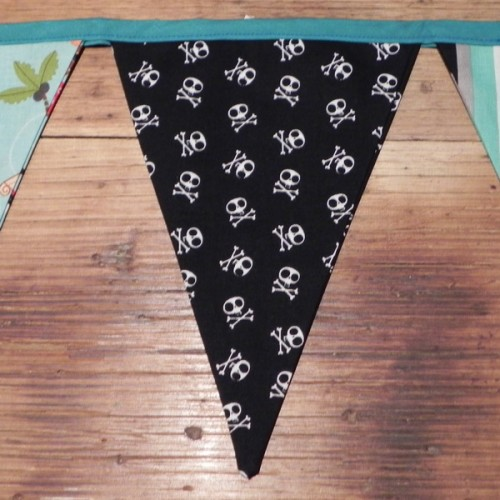 Bunting - Bleackbeards Pirate Blue