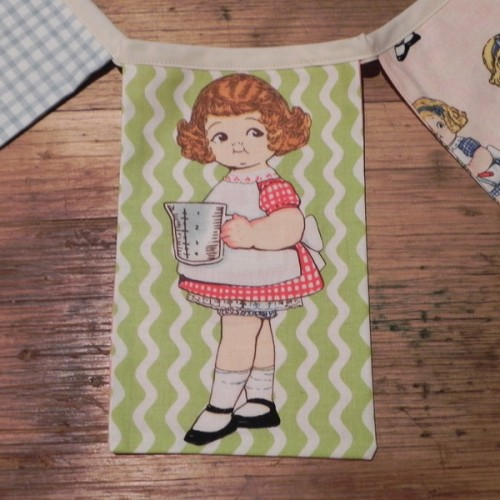 Bunting - Bakery Paper Dolls