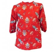 Art Smock - Galaxy Red