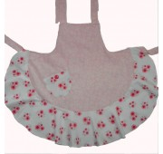 Vintage Style Apron - Pink